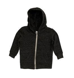 Small Change Charcoal Zip Hoodie