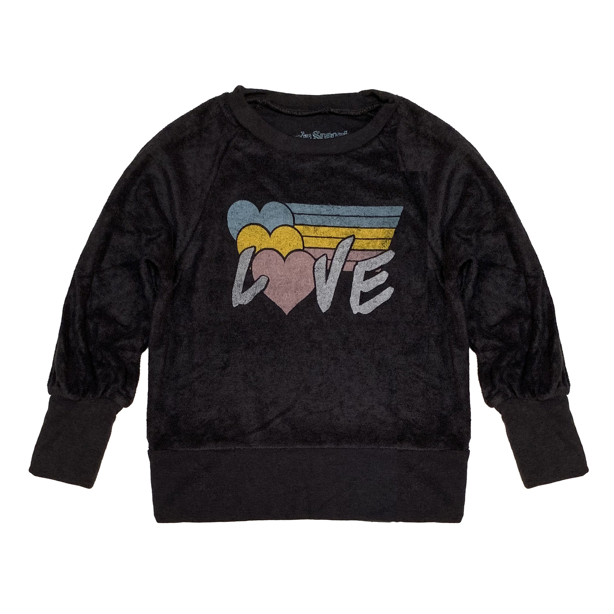 Rowdy Sprout Terry Love Sweatshirt