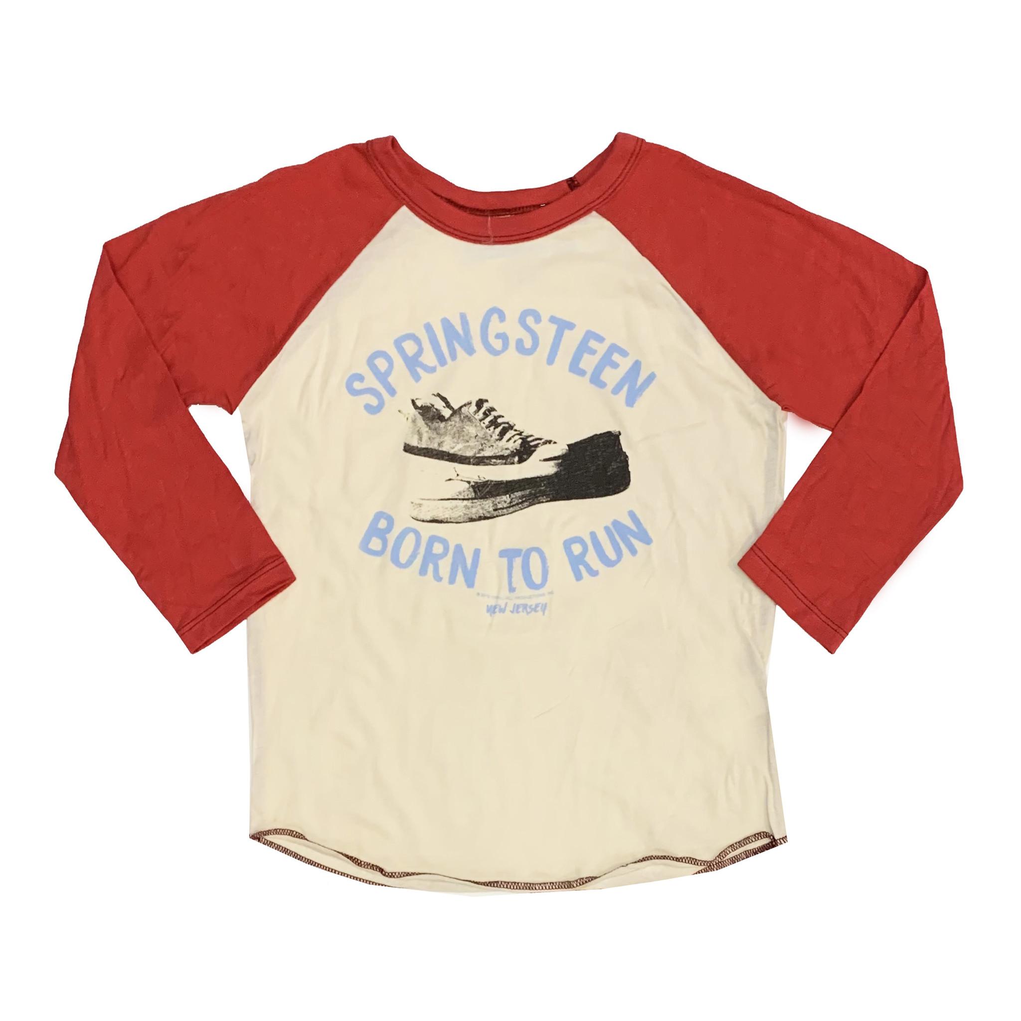 Rowdy Sprout Springsteen Born to Run Raglan