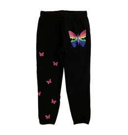 Lauren Moshi Rainbow Butterfly Sweatpant