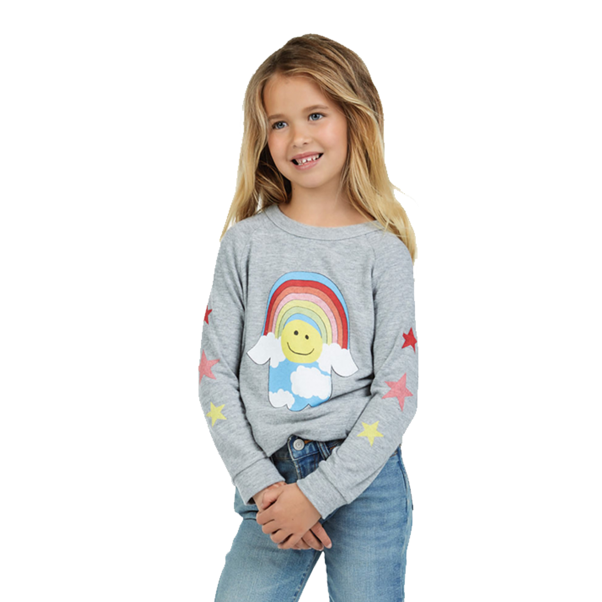 Lauren Moshi Happy Cloud Hamsa Pullover