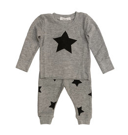 Little Mish Grey & Black Star Set