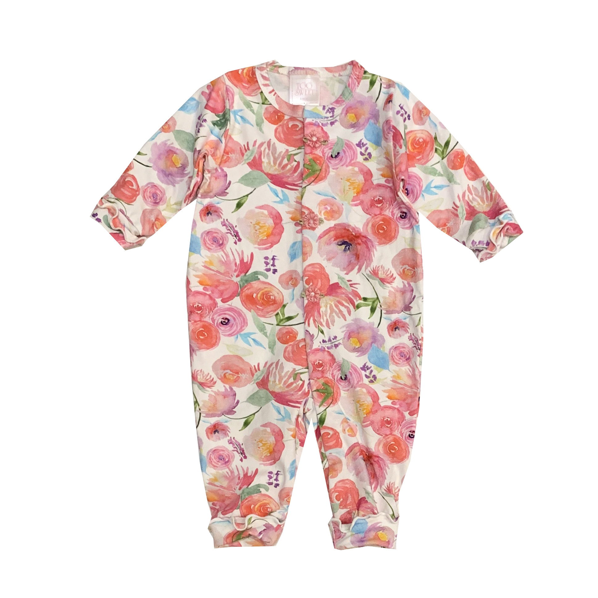 Too Sweet Watercolor Floral Outfit