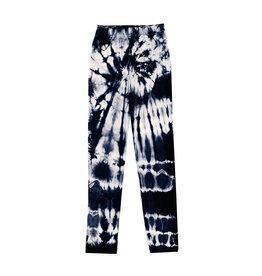 Firehouse Navy & White Tie Dye Leggings