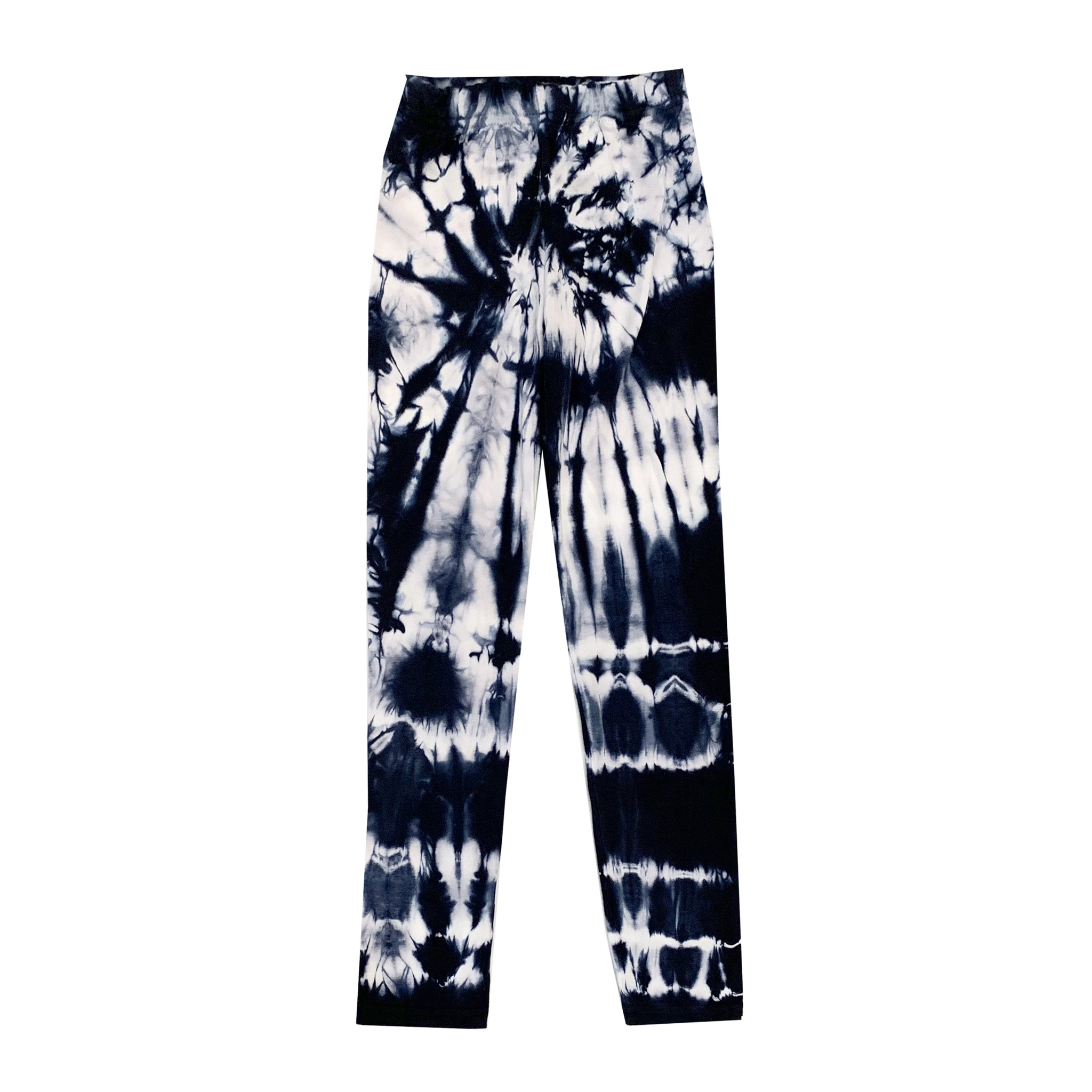 Firehouse Navy & White Tie Dye Leggings