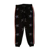 Vintage Havana Junior Black Star Sweatpant with Contrast Stripe
