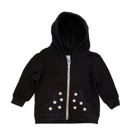 Small Change White Star Zip Hoodie