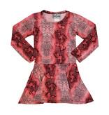 Dori Creations All-Over Pink Snake Print Dress