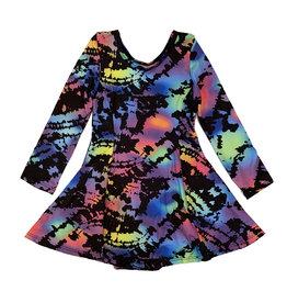 Social Butterfly Blacklight Dress