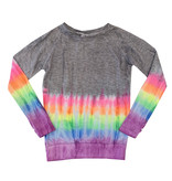 Firehouse Rainbow Dip Dye Top