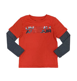 Under Armour Red Branded Slider Top