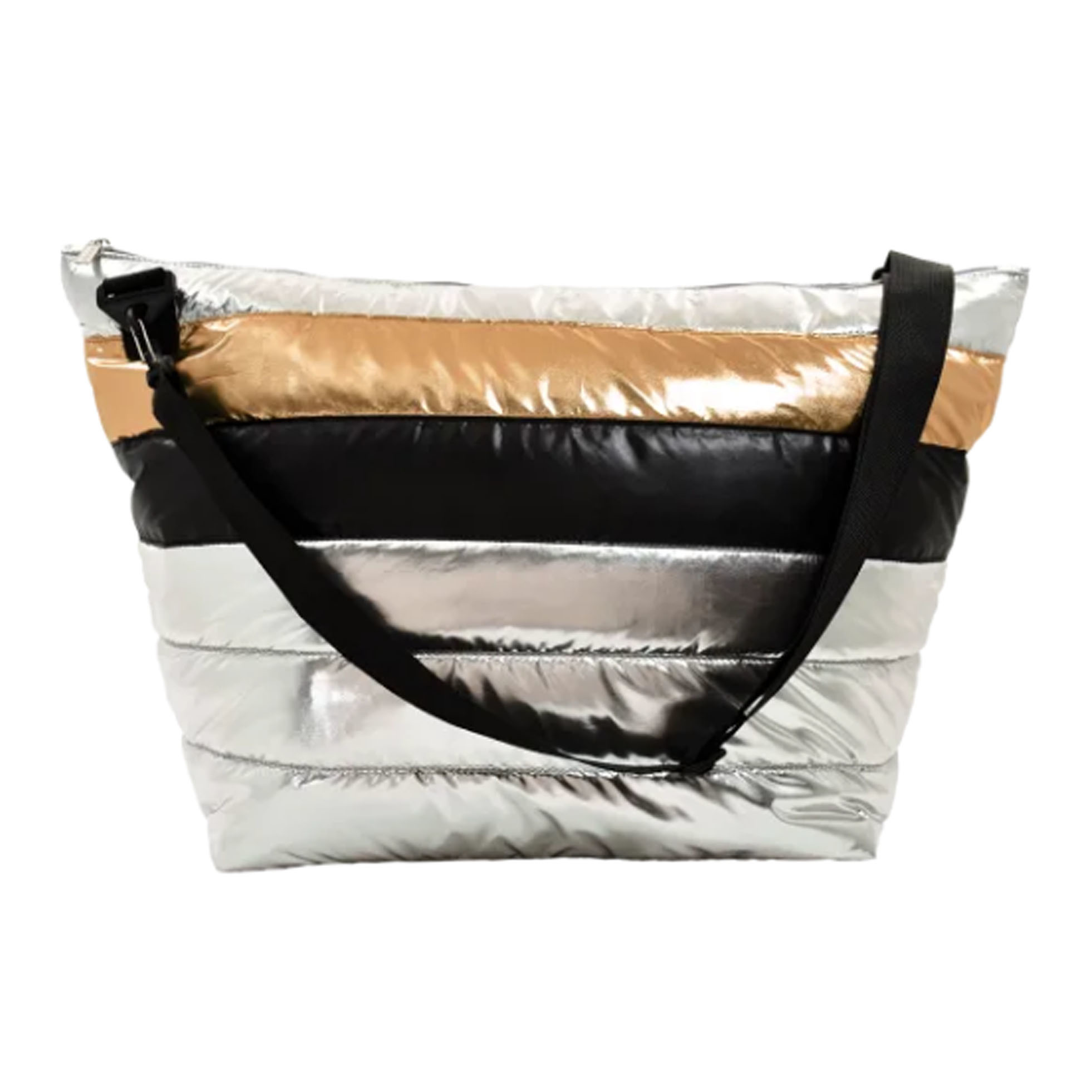 iScream Metallic Puffer Weekender Bag