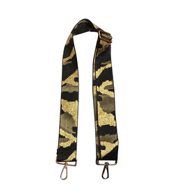 Army Green Camoflauge Bag Strap