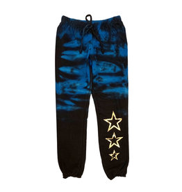 Vintage Havana Tie Dye Jogger with Gold Stars