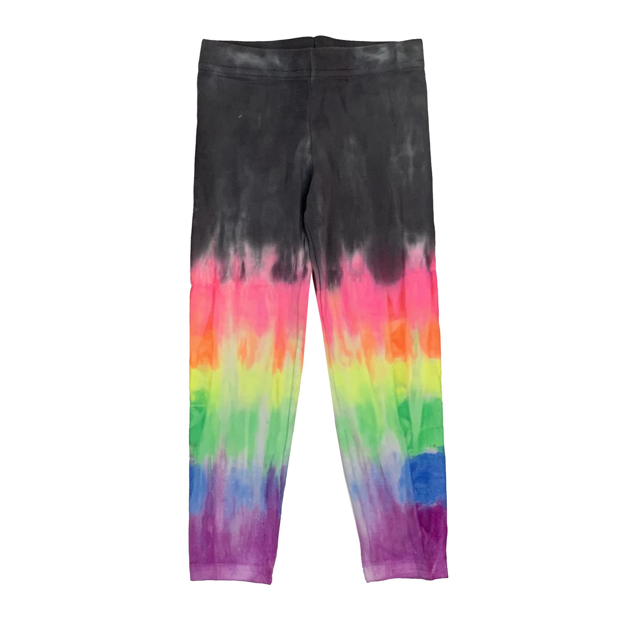 Firehouse Rainbow Dip Dye Leggings