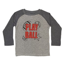 Mish Play Ball Thermal Baseball Top