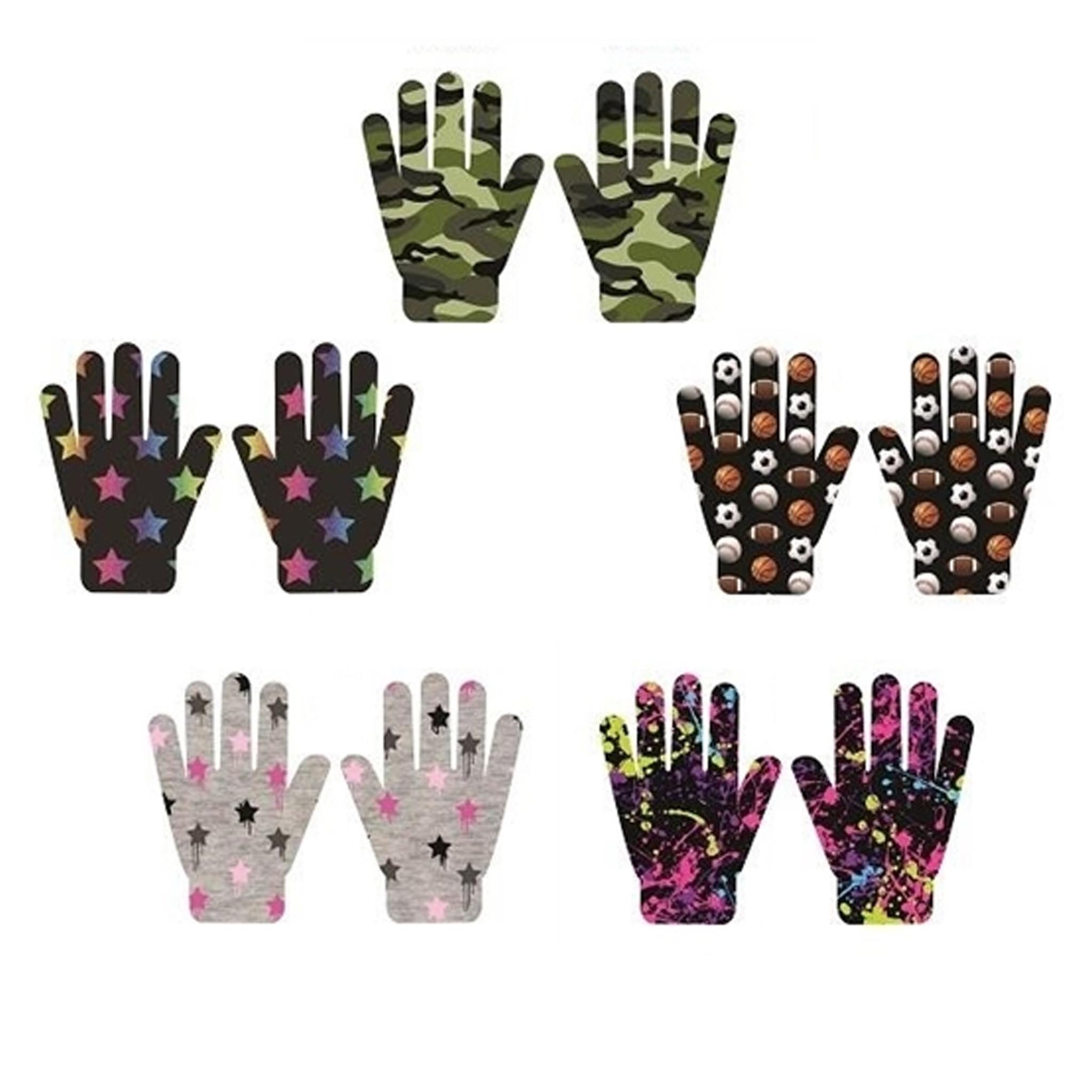 Top Trenz Kids Gloves