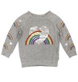 Lauren Moshi Rainbow Sweatshirt