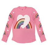 Lauren Moshi Pink Rainbow Thermal