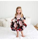 Posh Peanut Zoey Floral Toddler Twirl Dress