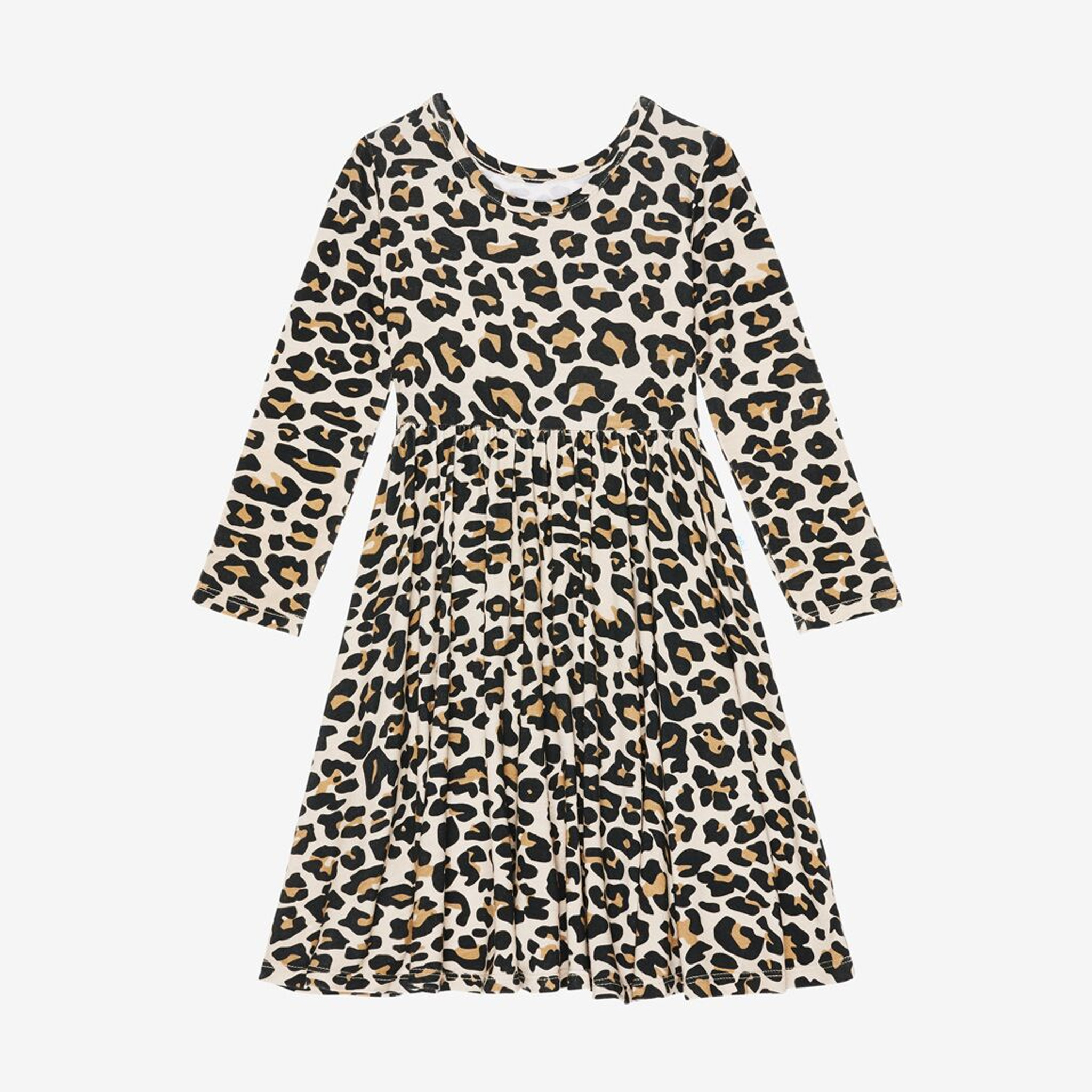 Posh Peanut Leopard Toddler Twirl Dress