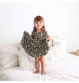 Posh Peanut Leopard Toddler Twirl Dress