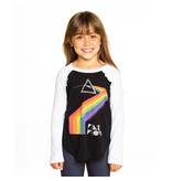 Chaser Pink Floyd Ruffle Top