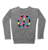 Firehouse Neon Peace Sign Top