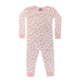 Baby Steps Pink Swans PJ Set