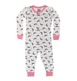 Baby Steps Rainbows Infant PJ Set
