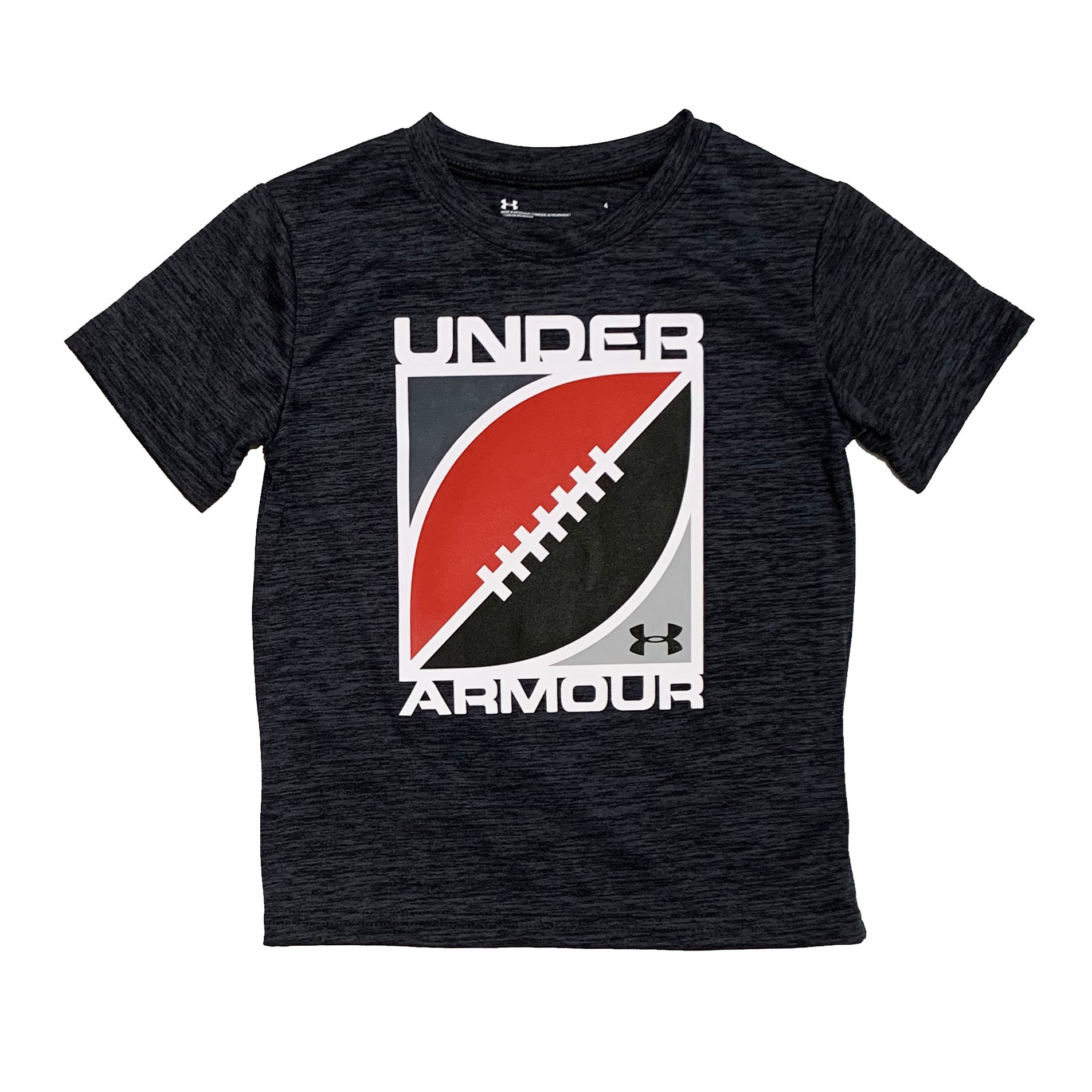 Under Armour Heathered Football Tee