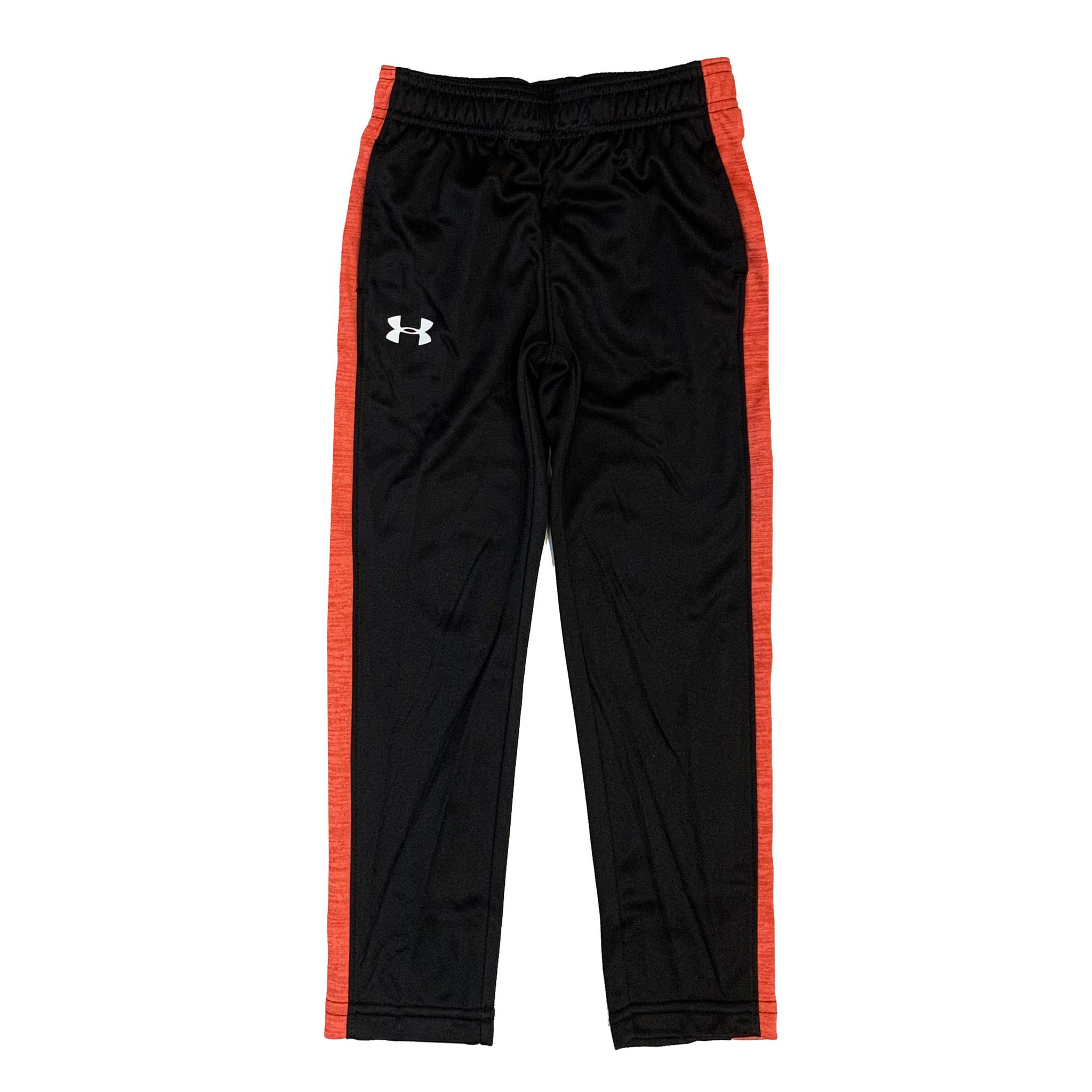Under Armour Orange & Red Heathered Stripe Pant