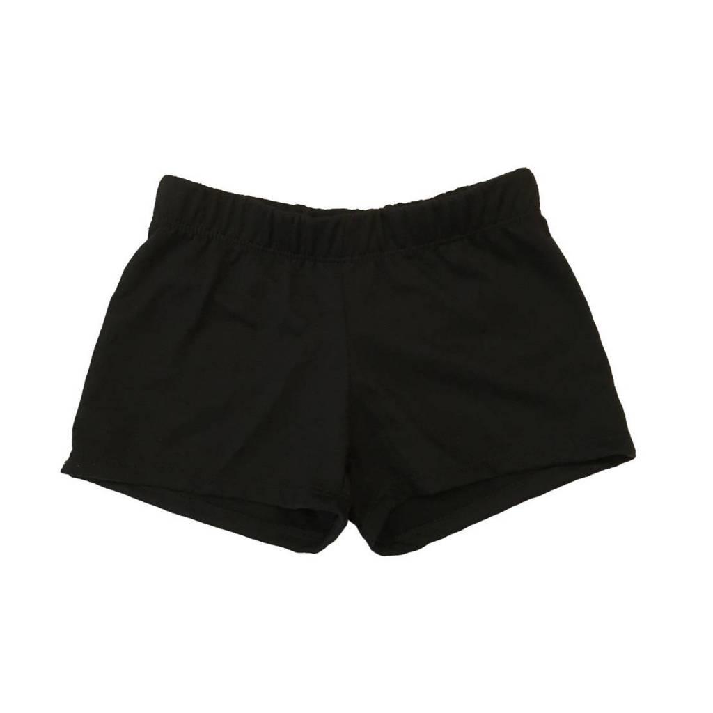 Firehouse Black Sweat Shorts