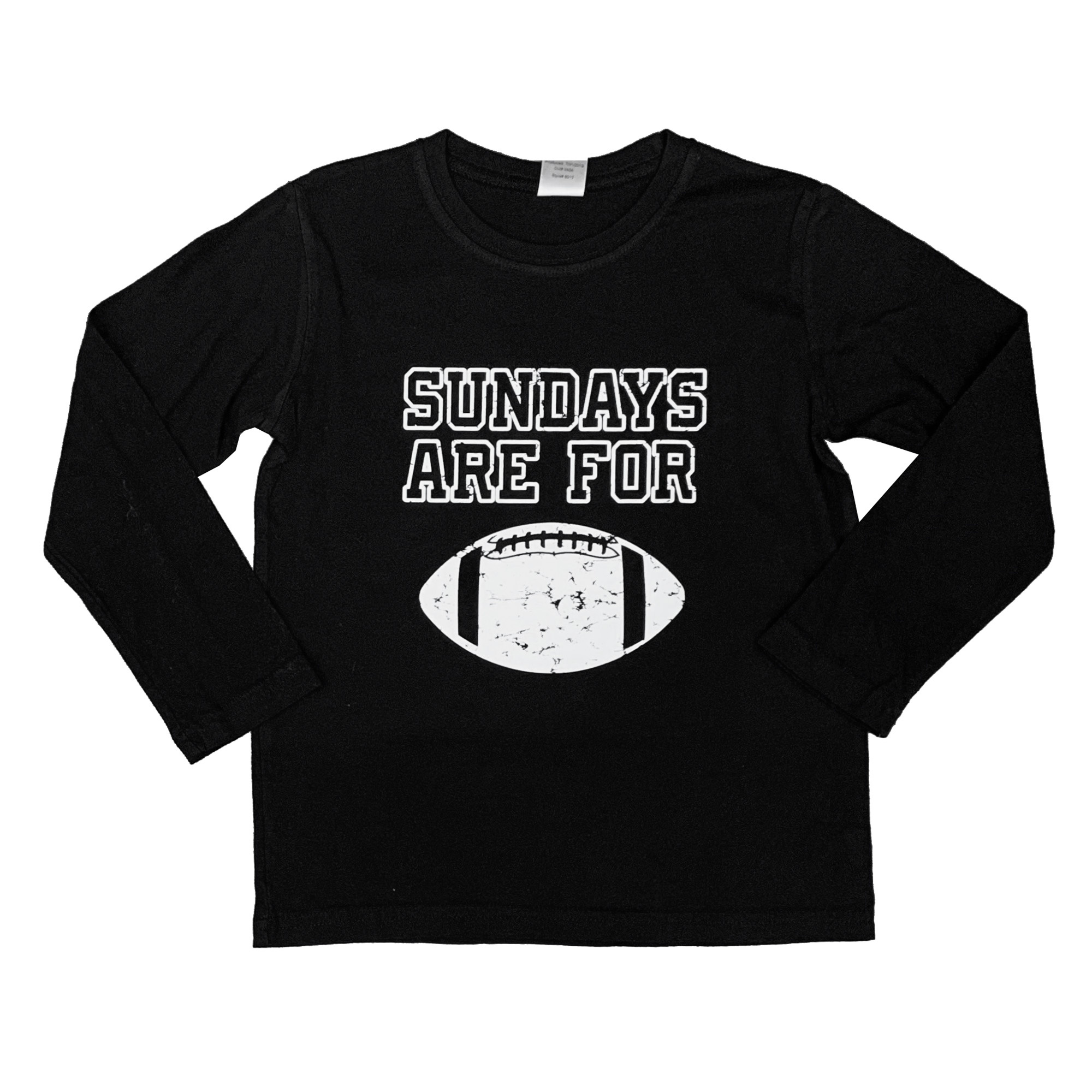 Sundays are for Football Long Sleeve Top