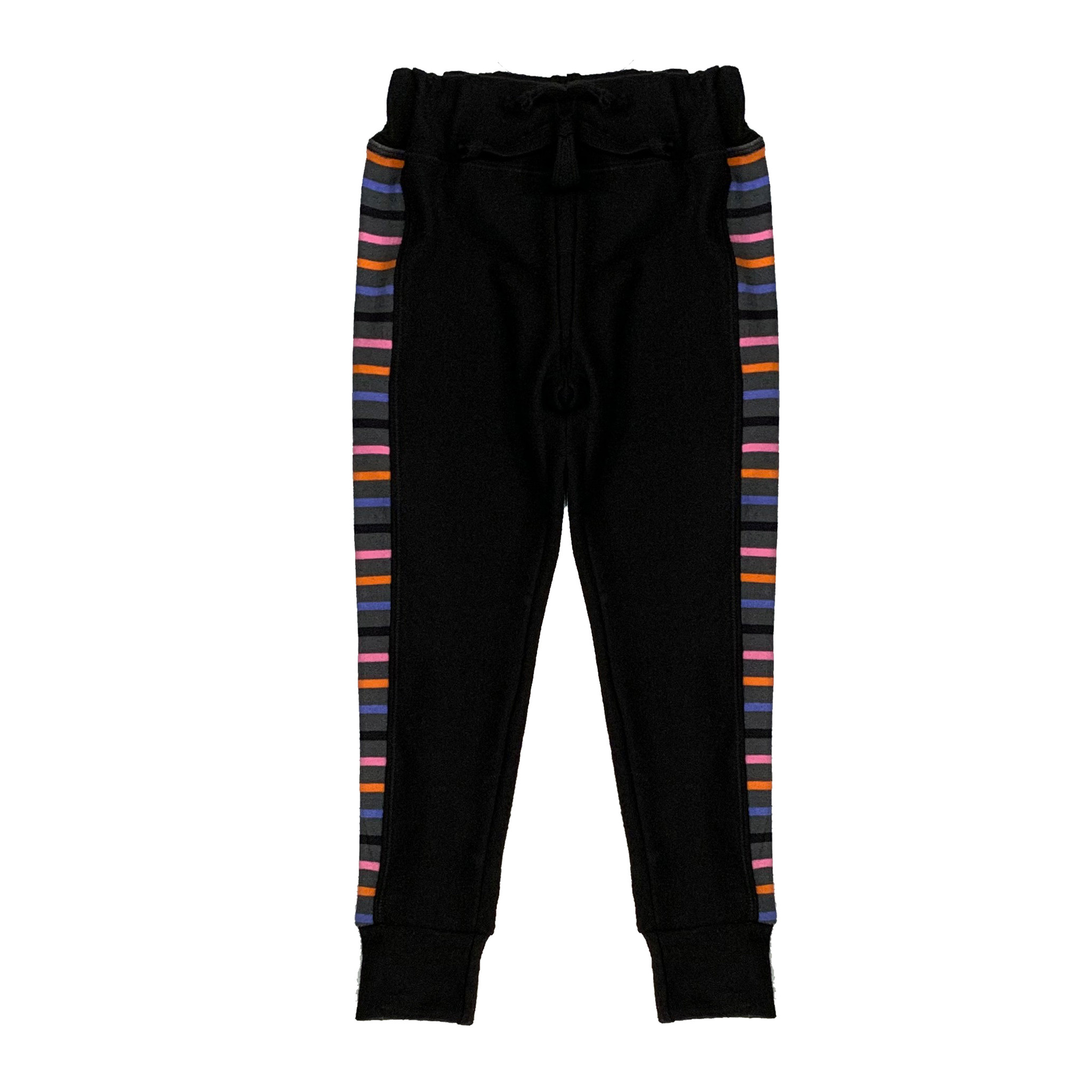 T2Love Striped Panel Skinny Pant