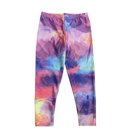 Social Butterfly Bright Watercolor Infant Leggings