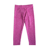 Dori Creations Pink/White Infant Heathered Legging