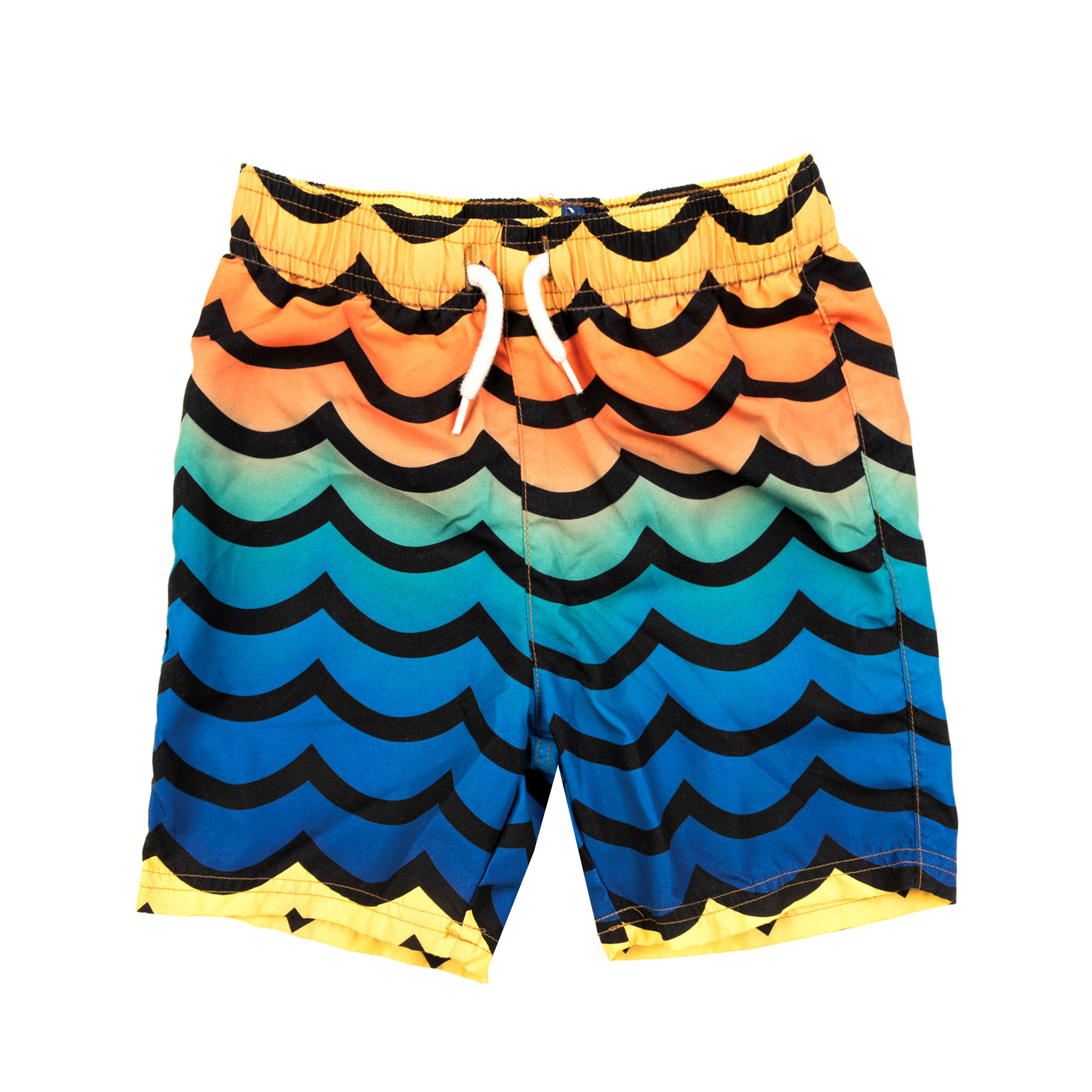 Appaman Ombre Wave Infant Swim Trunks