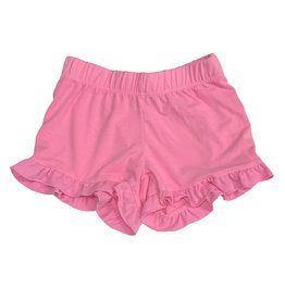 Firehouse Neon Pink Ruffle Short