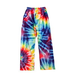 Top Trenz Tie Dye Plush Lounge Pants