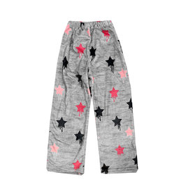 Top Trenz Dripping Star Plush Lounge Pants