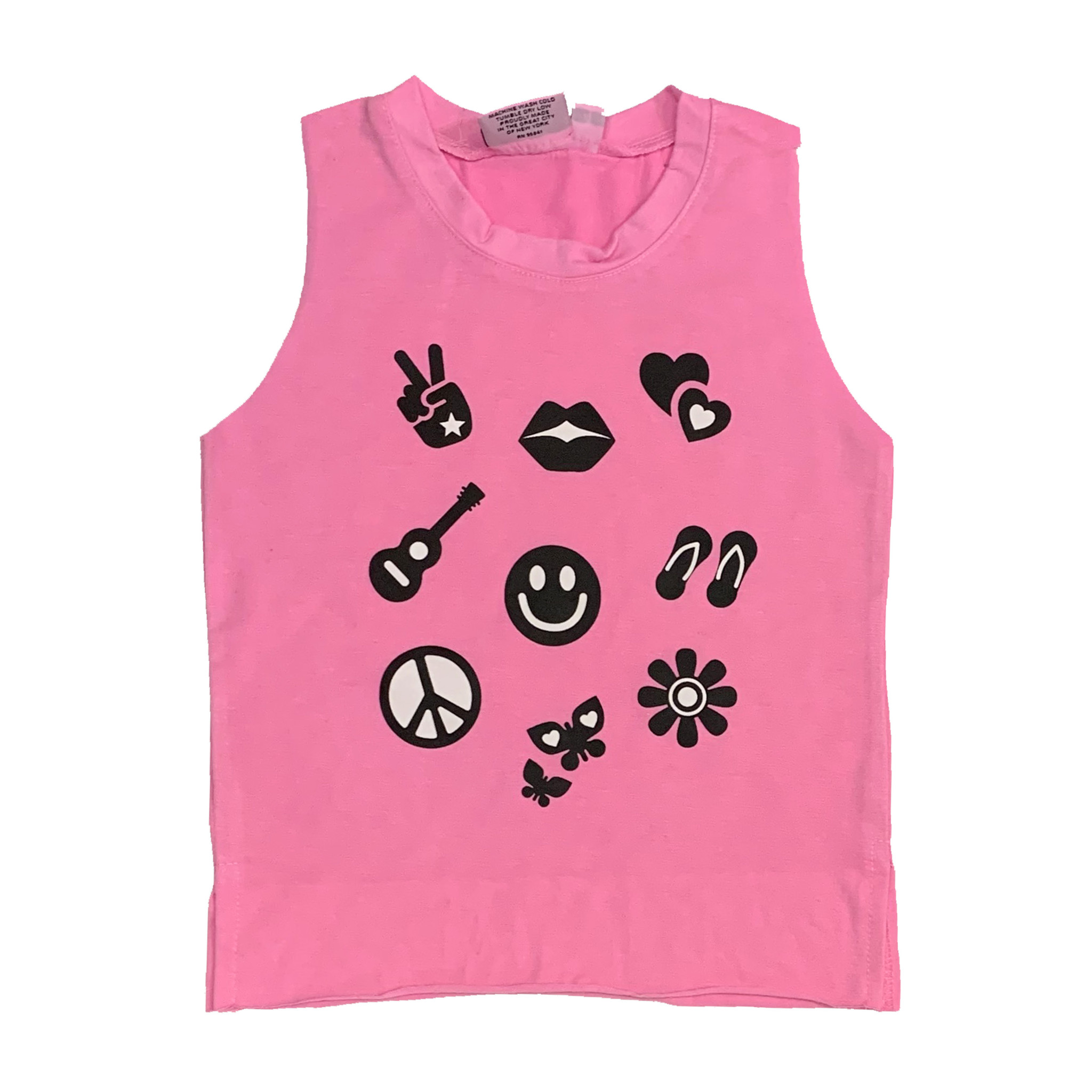 Firehouse Pink Icons Tank