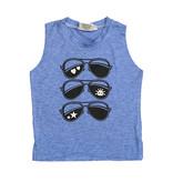 Firehouse Blue Sunglasses Tank