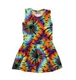 Dori Creations Primary Swirl Tie Dye Tank Dress