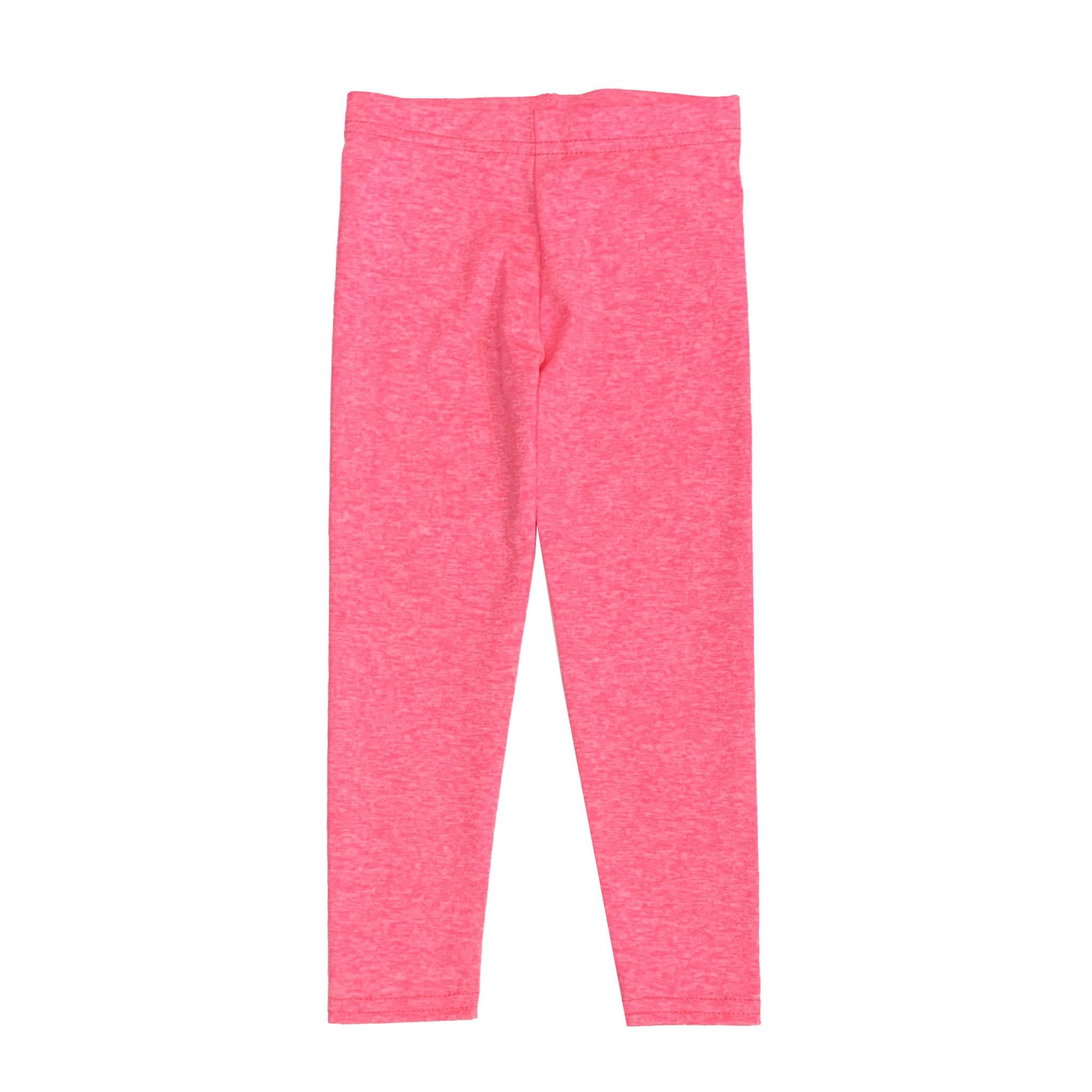 Dori  Creations Neon Pink/White Heathered Legging