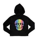 Firehouse Black Neon Skull Pullover Hoodie