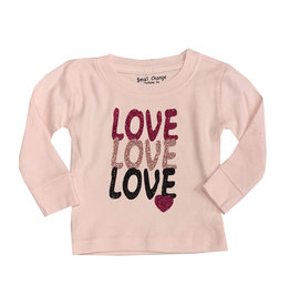 Small Change Pink Love Love Love Thermal