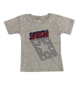 Wes & Willy Grey Infant Superstar Tee
