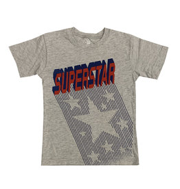 Wes & Willy Grey Superstar Tee