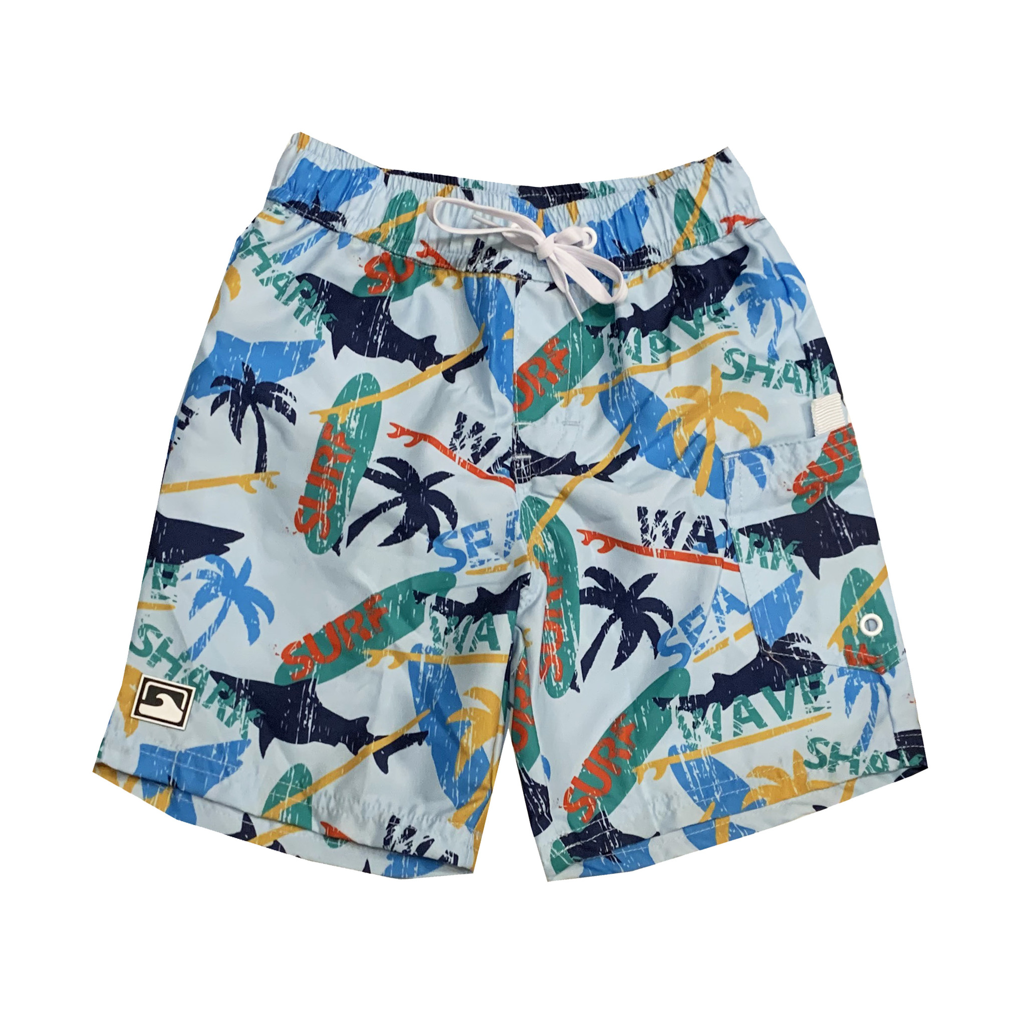 Coral Reef Surf Island Swimshorts